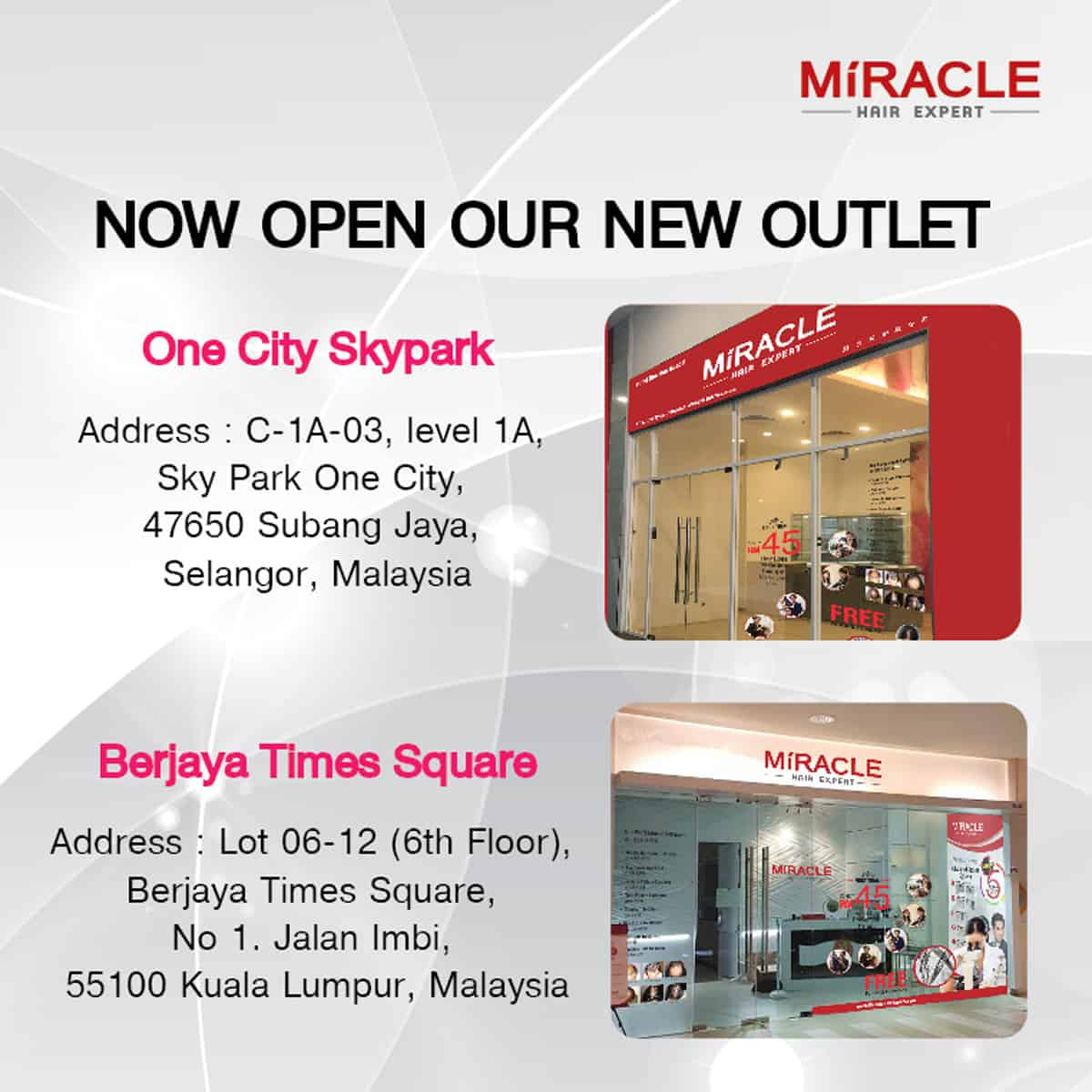 new outlet